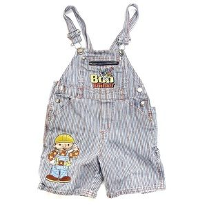 Vintage 90's Boys Bob The Builder Overalls